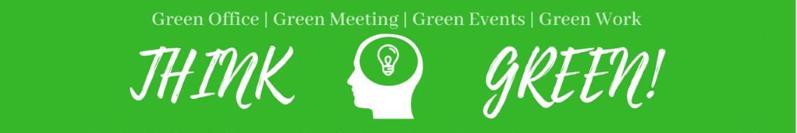Think Green - für ein grünes Büro