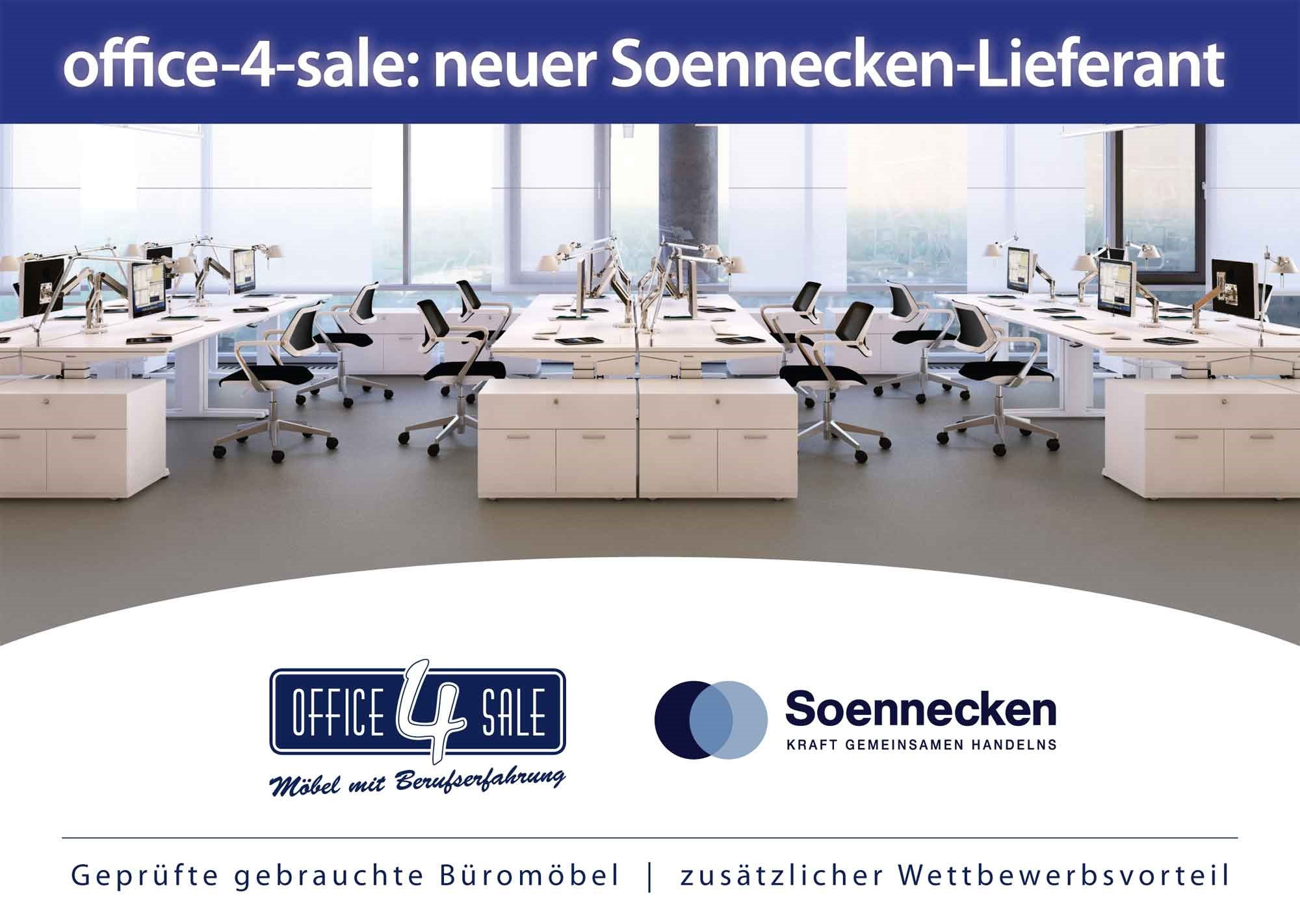 office-4-sale ist neuer Soennecken-Partner