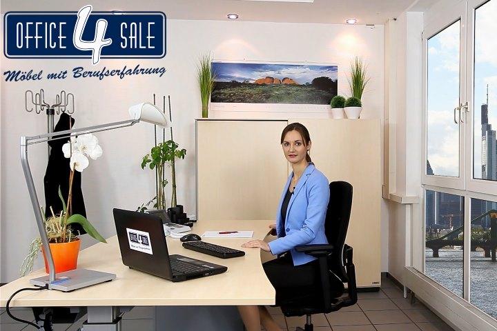 Die Sitzhöhe am Büro-Schreibtisch