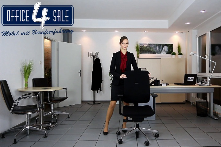 Die Rückenlehnenhöhe beim Bürostuhl richtig einstellen
