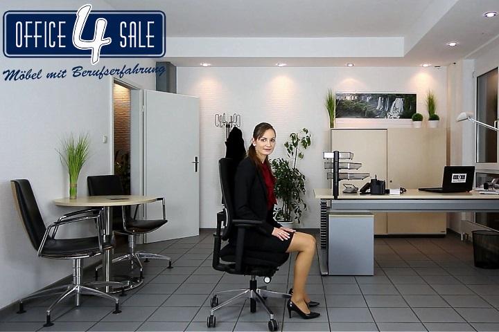 Die Sitzhöhe beim Bürostuhl richtig einstellen