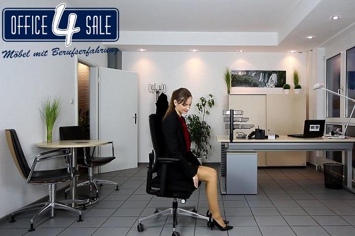 Die Sitztiefenverstellung beim Bürostuhl richtig einstellen